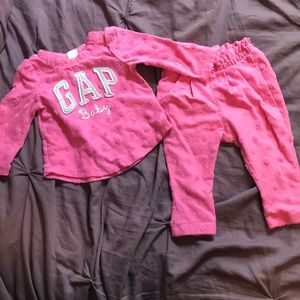 Other - GAP pink baby set